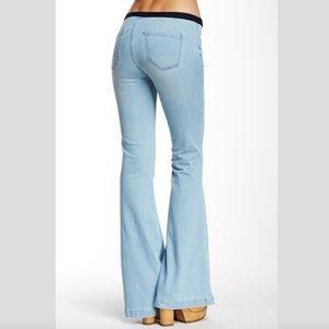 Blank Denim : Distressed Bell Bottom Jeans